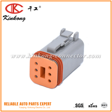 6 Pin Female DT Auto Socket Deutsch connector DT06-6S AT06-6S