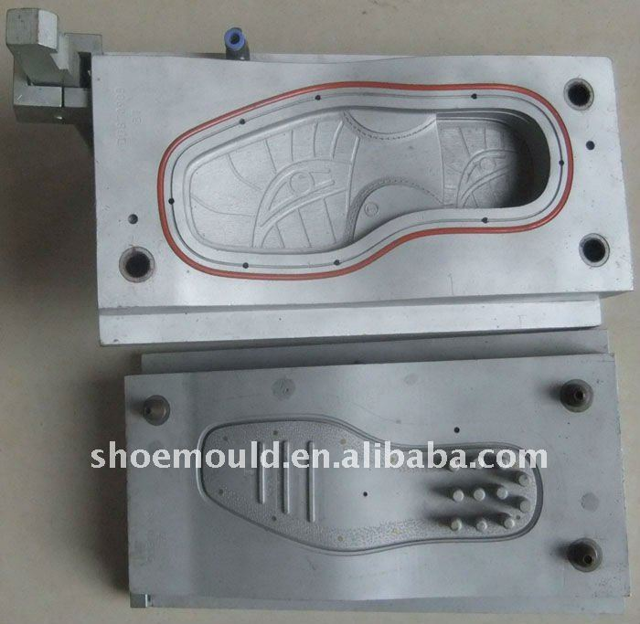 2013 new PVC air mix soles moulds for making comfortable shoes used on automatic machine