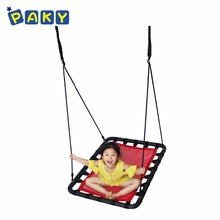 Rectangular Mesh Outdoor Swing Seat for Children and Adults