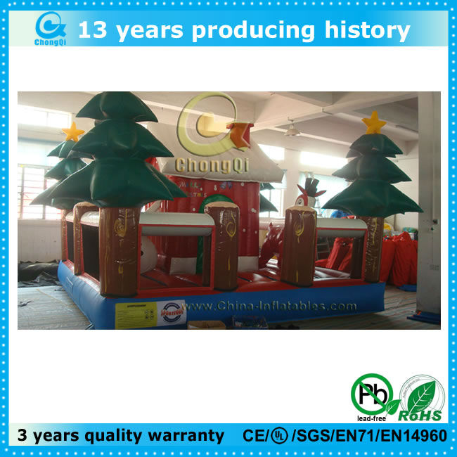 top popular 2013 christmas inflatable bouncer