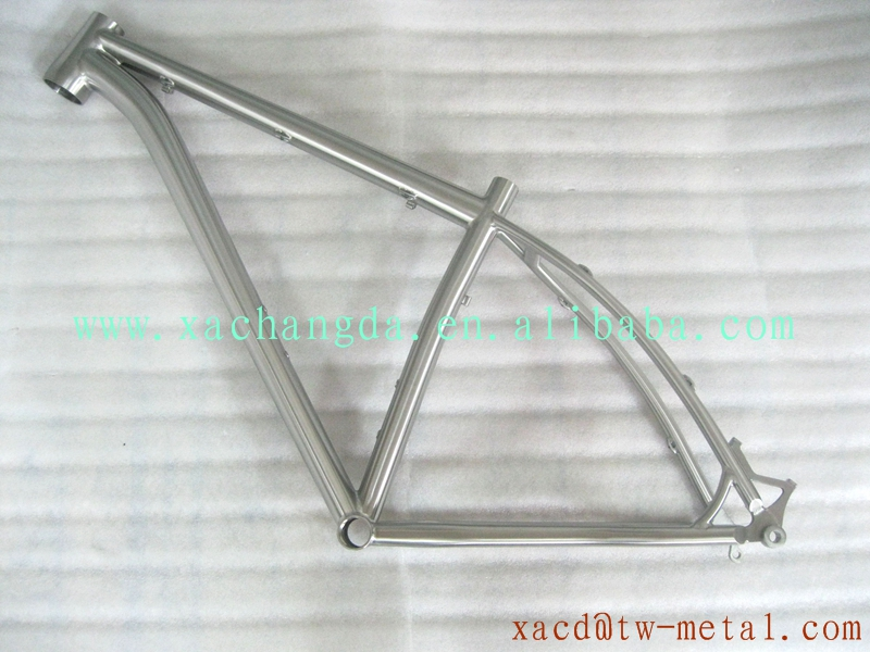 customize titanium mountain bike frame new design MTB bike frame