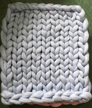 Merino wool Grande Large blankets. Giant knit. Cozy throw. Chunky blanket