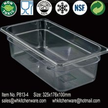NSF Listed Polycarbonate gastronorm food pans