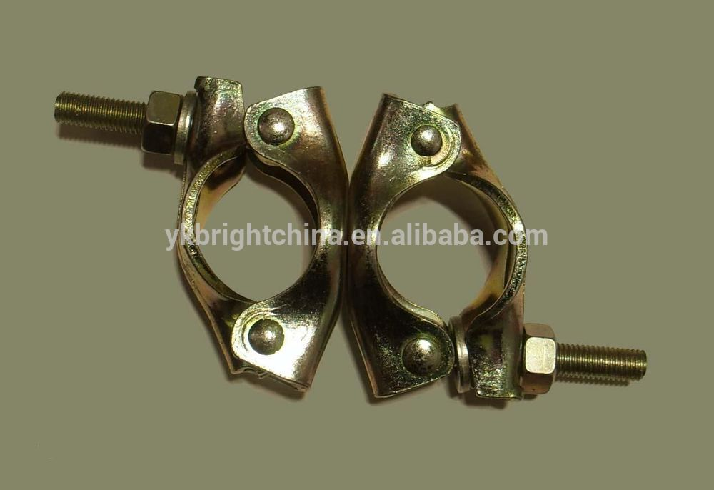 Types of clamps scaffold fastener type steel pipe