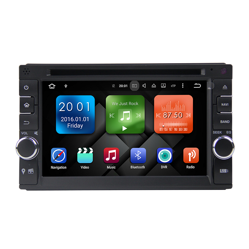 Winmark Octa Cord Android 6.0 Car Radio Player 6.2 Inch 2 Din For Skoda Toyota VW Mazda Ford Universal DU6546