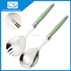 stainless salad spoon an laguiole cutlery set