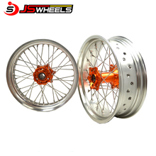 17x3.5 Super Motard Supermoto Alloy Spoked EXC 300 motorcycle alloy wheels