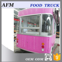 mobile food bus for selling fast food/ice cream/hot dog