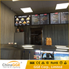 Ultrathin Snap/Click Open Frame Wall Mounted LED Illuminated Restaurant Menu Board Advertising Light Box LED Light Frame