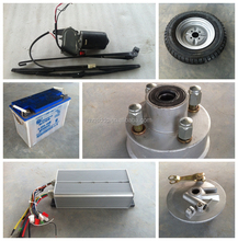 Battery three wheel tricycle spare parts from China