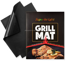OEM manufacturer SGS approve PTFE Non-stick BBQ Grill Mat