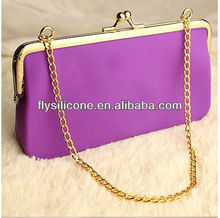 2013 ShenZhen OEM ODM Fashion Silicone Bag for Woman
