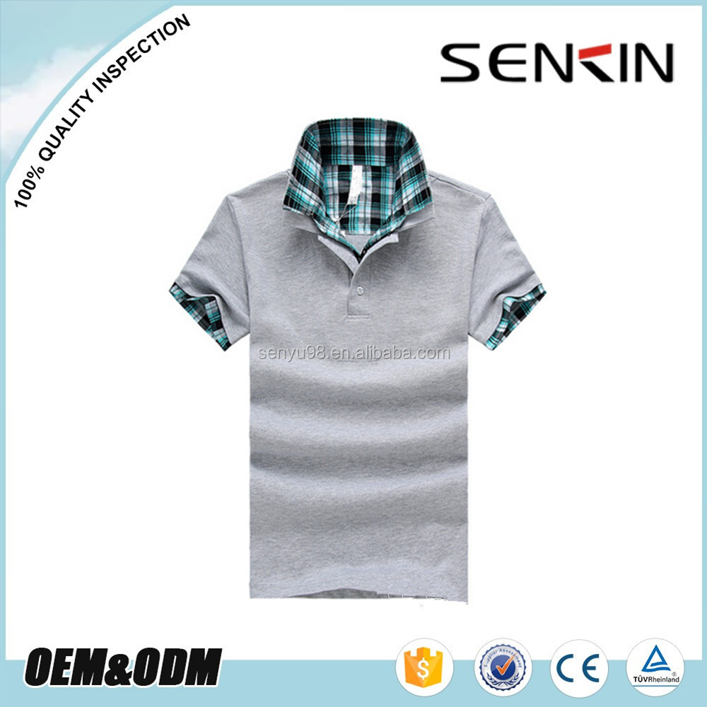 100 cotton gray golf shirts wholesale custom made polo t Wholesale polo t shirts