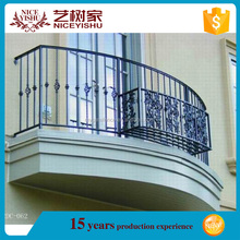 High quality simple wholesale hot sale indoor iron window railing grill