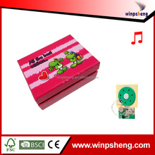 Custom push button sound module music box/mini digital music box