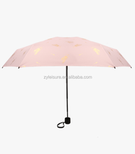 Summer UV protection nice printing parasol fold umbrella fancy parasols sunshade umbrella parasol