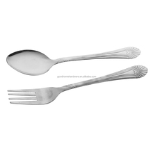 flatware custom cheap stainless steel cutlery set with fork, knife and spoon