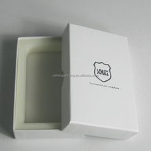 Square Shaped Paper Cosmetic Box with Blister Tray