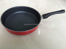 Large induction griddle cooking wok pans