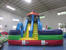 2016 Best quality top popular giant cheap kids slide inflatable water slides for sale