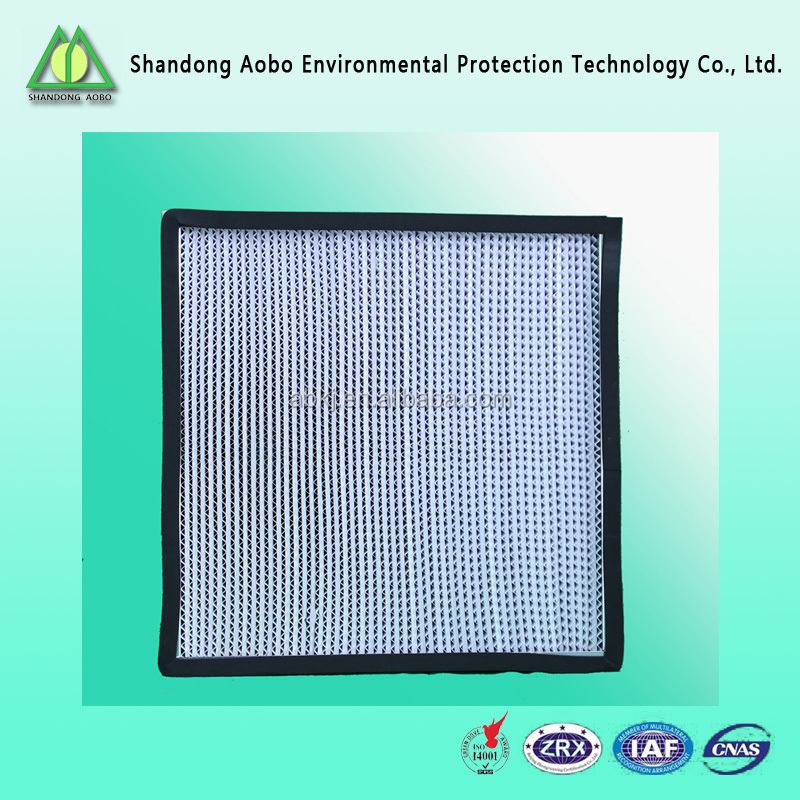 High Quality H14 HEPA Filter For Industrial Air Handling Unit