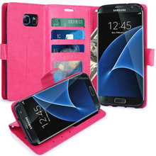 Cheap Price S7 Edge Leather Case For Galaxy S7 Edge Mobile Phone Leather Cover Case