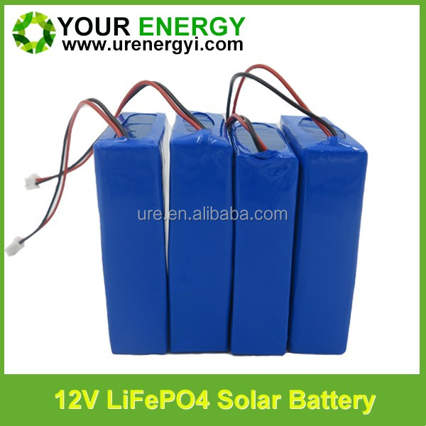 lithium iron phosphate 12V 40Ah battery li ion battery