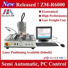 BGA Reballing Tool BGA Chipset Repairing Tool With Laser Position Hot Air Heater And Infrared Heater ZM-6000 Seamark