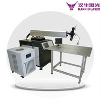 Hanniu laser brand jewelry yag laser welding machines price /jewelry/jewellery laser welding price with great price