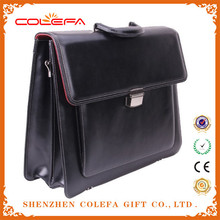 Top quality hot sale men leather briefcase