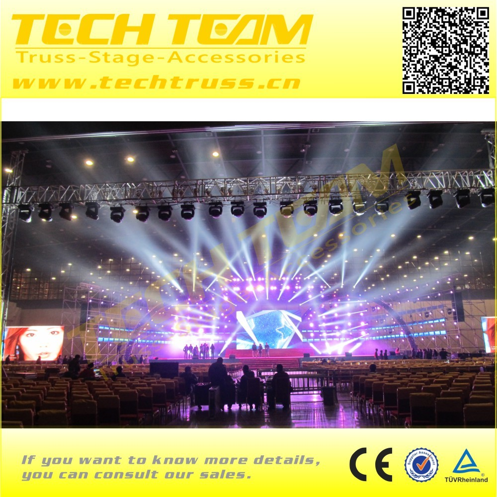 Pipe truss design stage truss aluminum system sale