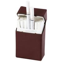 Genuine Cowhide Leather Cigarette Pack Case/Box/Holder for regular Size Cigarettes
