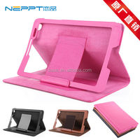 Neppt New 2014 PU Leather Case Cover for Lenovo Idea Tab A8-50 A5500 Protection Skin Case for Lenovo A5500