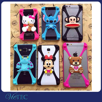 Cute universal 3d custom made tpu phone case silicone phone case