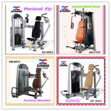 best selling Butter-fly Machine/China made Pectoral Machine/pin loaded strength gym equipment/brand new Seated Chest Press