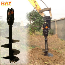 Mini hydraulic earth drilling rig tree planting digging machines