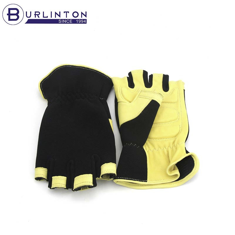 custom design neoprene pad Framing leather working gloves