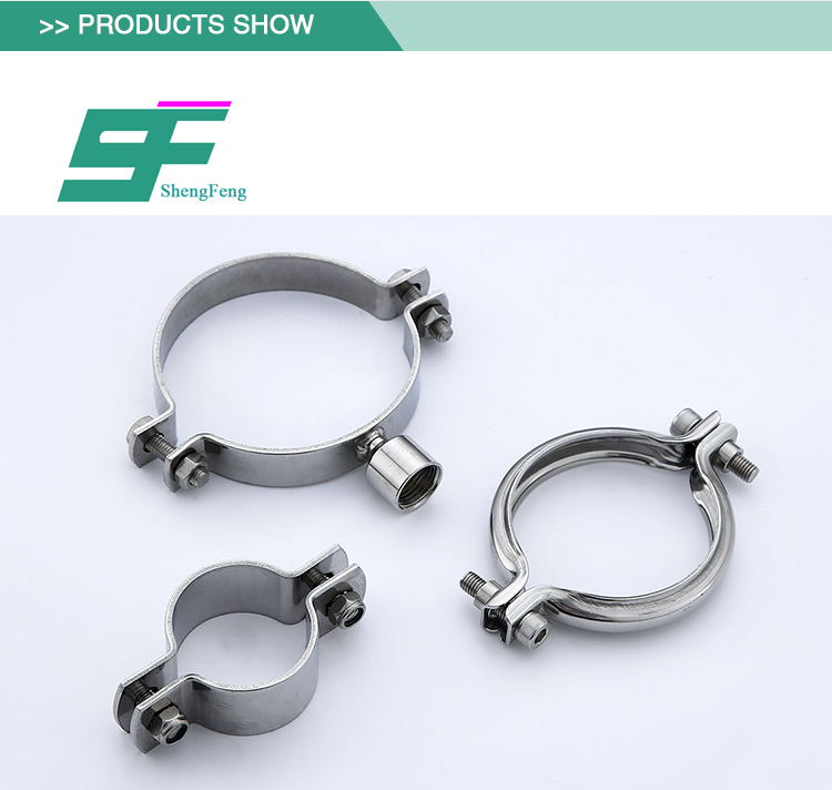 Cheap sell security simple stainless steel sanitary high pressure clamp