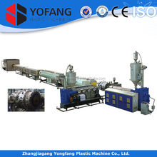plastic water and gas supply pipe making machines/extrusion line