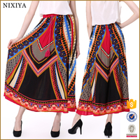 Fashion ethnic indian traditional long skirts for women