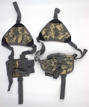 Military Tactical Nylon Double Shoulder Holsters