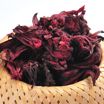Roselle Flower Tea,100% Organic Dried Hibiscus flower roselle Buds