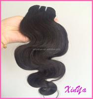 High Quality 7A Natural black Can dye Body wave Virgin brazilian human hair