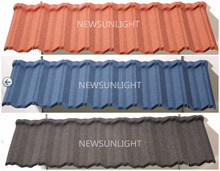 Terracotta Stone Coated Metal Roof Tile/Shingle