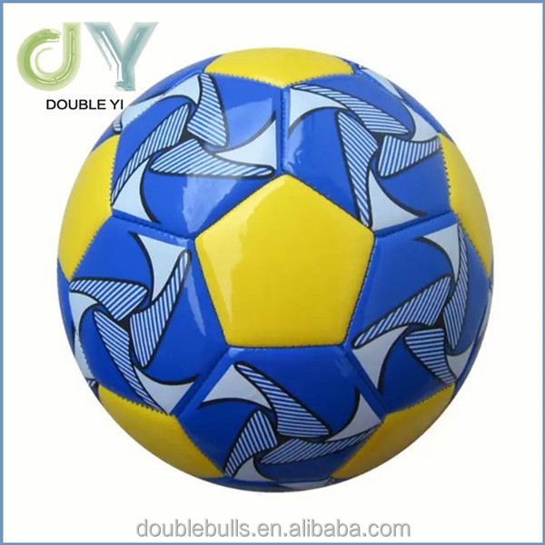 TPU/PU/PVC machine sewn football size 3 soccer football in various colour and material for promotion gift soccer