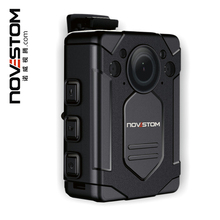novestom sim card body camera mobile phone detachable body camera self recording hidden body camera for police