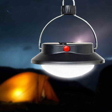 Three model 60 LED black tent light suspend Camping Lantern with carabiner hook