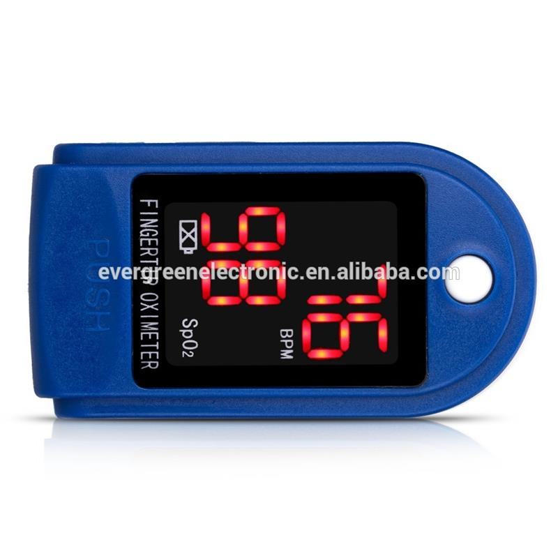 Living Invoice pulse oximetry yellow handheld finger pulse oximeter with great price EG-P01