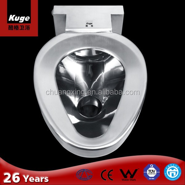 2016 Chuangxing stainless steel good quality CE wc toilet bowl