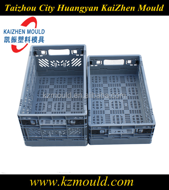 Injection plastic crate mold manufacturer plastic turnover box mold factory